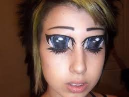 lazuline colored ramblings anime eye makeup you re doing it wrong