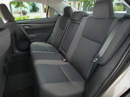 toyota corolla seats 2018 toyota corolla price photos reviews safety ratings