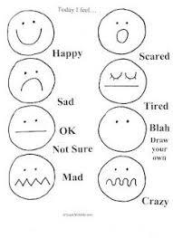 feelings worksheets for kindergarten mediafoxstudio com