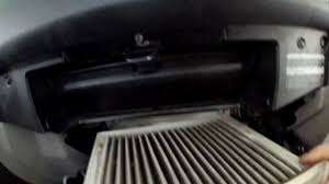how to replace cabin air filter toyota 4runner 2006 youtube