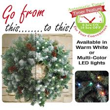 battery operated lights with timer led wreath lights battery operated led wreath light set american