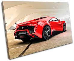 lexus lfa ebay uk lykan hypersport exotic supercar cars single canvas wall art
