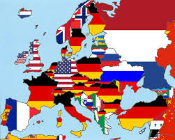 Europe Flag Map by Every European Country U0027s Top Export U0026 Import Partner Moverdb Com