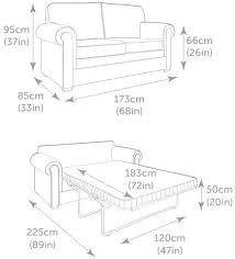 JayBe Classic Sofa Bed - Sofa bed dimensions