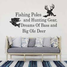 Hunting And Fishing Home Decor Online Buy Wholesale Hunting And Fishing Decals From China Hunting