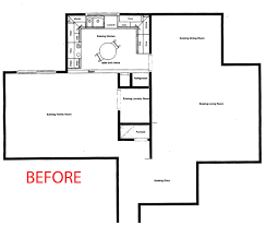 study room floor plan case study 1 u2013 a contemporary kitchen remodel kitchenbathrestylers