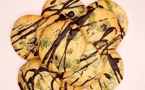 fresh mint chocolate chip cookies recipe food to love
