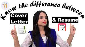 Difference Between Application And Resume What Is The Difference Between A Resume And A Cover Letter Ii