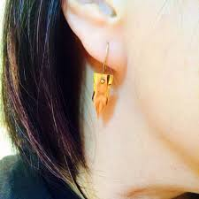 jojo s earrings jojo s adventure rohan kishibe pen earring 1 pair