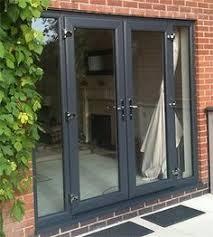 Garage Door Conversion To Patio Door Grey Doors The Windows Next To The Door Wouldn T