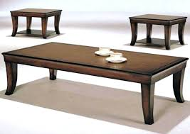 living room coffee table sets cheap end tables and coffee table sets in brown finish side for