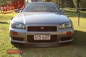 nissan skyline r34 xenon headlights one owner r34 gt r skyline muscle car stables
