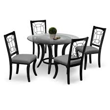dining tables city furniture dinette sets 7 piece counter height