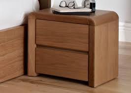 Modern Oak Bedroom Furniture Bedroom Furniture Modern Wooden Nightstand Drawer Laminate
