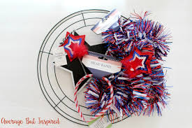 wreath supplies diy fourth of july wreath made with dollar tree supplies