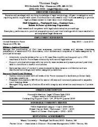Sample Paralegal Resume by Resume Sample Paralegal Resume Sample Free Paralegal Resume