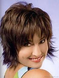 short sassy hair cuts for women over 50 with thinning hairnatural 50 good looking shag hairstyles