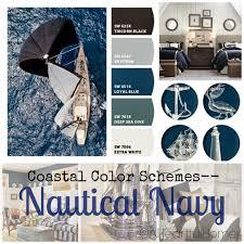 nautical colors a heartful home 31 days of coastal style coastal color schemes