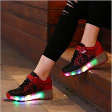 led light up shoes quality cool youth boy blue led light up shoes for sale