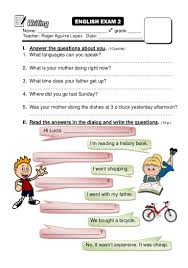 4th grade book report sample fourth year sample test