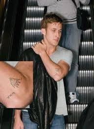 gosling tattoos giving tree and cactus