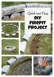 How To Build Your Own Firepit How To Build A Pit Stowed Stuff