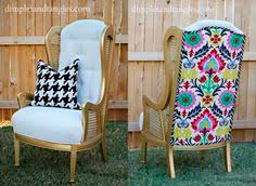 want houndstooth wingback chairs for host hostess chairs in dining
