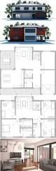 Modern Floor Plans 38 Best Tiny Lot House Plans Images On Pinterest Small Houses