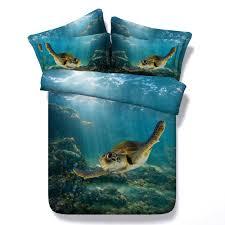 Blue King Size Comforter Sets Online Get Cheap Turtle Bedding Set Aliexpress Com Alibaba Group