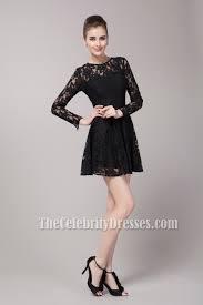 klshort black dresses inspired sleeve party black dress