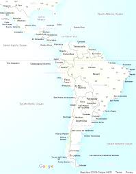 North America And Central America Map by North America Map With Central America Links To Regional Tourist