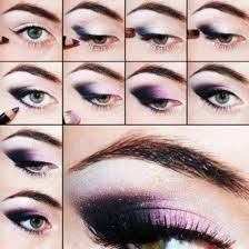 step by black smokey eye makeup for indian skin 2016 video in urdu
