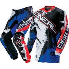 red dirt bike boots oneal new 2017 mx shocker black blue red dirt bike motocross gear