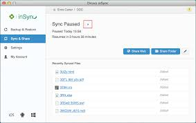 Resume Operation Pause And Resume A Sync Operation Druva Documentation