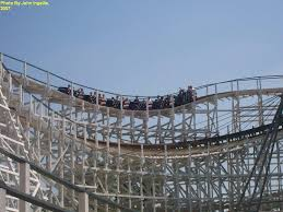 Six Flags Agawam Mass Cyclone Six Flags New England In Massachusetts Theme Park Critic