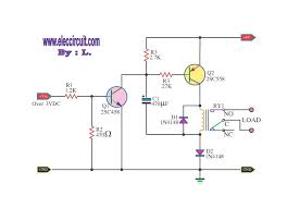 boost up voltage for relay by bc558 u2013 electronic projects circuits