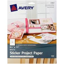 avery r sticker project paper 3383 8 1 2 avery r sticker project paper 3383 8 1 2
