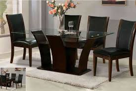 table ideas to make a base rectangle glass dining table amazing