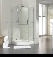 L Shaped Shower Curtain Rod Oil Rubbed Bronze Elegant Stripes Traditional Bathroom Sacramento Trax Neo Angle