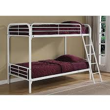 Dorel Bunk Bed Dorel Metal White Bunk Bed With 2 Mattresses