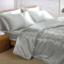 Bedding Cover Sets by Satin Bedding Sets 6 Piece Set Duvet Cover Fitted Sheet 4