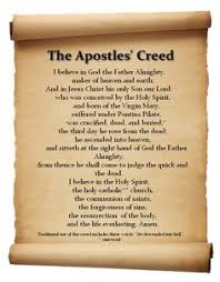 creed rosary the apostles creed is important