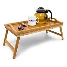 plateau canapé plateau petit déjeuner dans le lit ou plateau tv en bambou