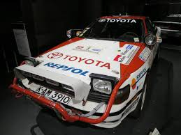 is toyota japanese toyota wrc history at the history garage kai gambalog kai