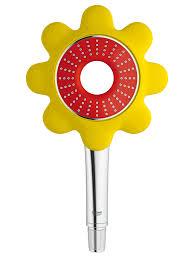Shower Head For Bath Lovely Grohe Rainshower Yellow Tulip Flower Design Kids Shower