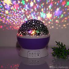 childrens night light projector 2018 baby night light star projector 360 degree rotation 3 model 4