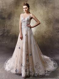 non white wedding dresses 5 non white wedding dresses from enzoani our wedding