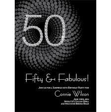 diamond numbers 50th milestone birthday invitations by noteworthy