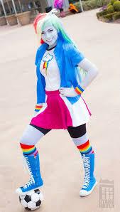 Rainbow Dash Halloween Costume Rainbow Dash Costume Girls Rainbow Dash Costume Halloween Wiki