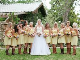 wedding dress cowboy boots the perfect ensemble for this texas